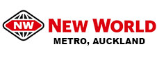 New World Metro, Auckland Catering Logo