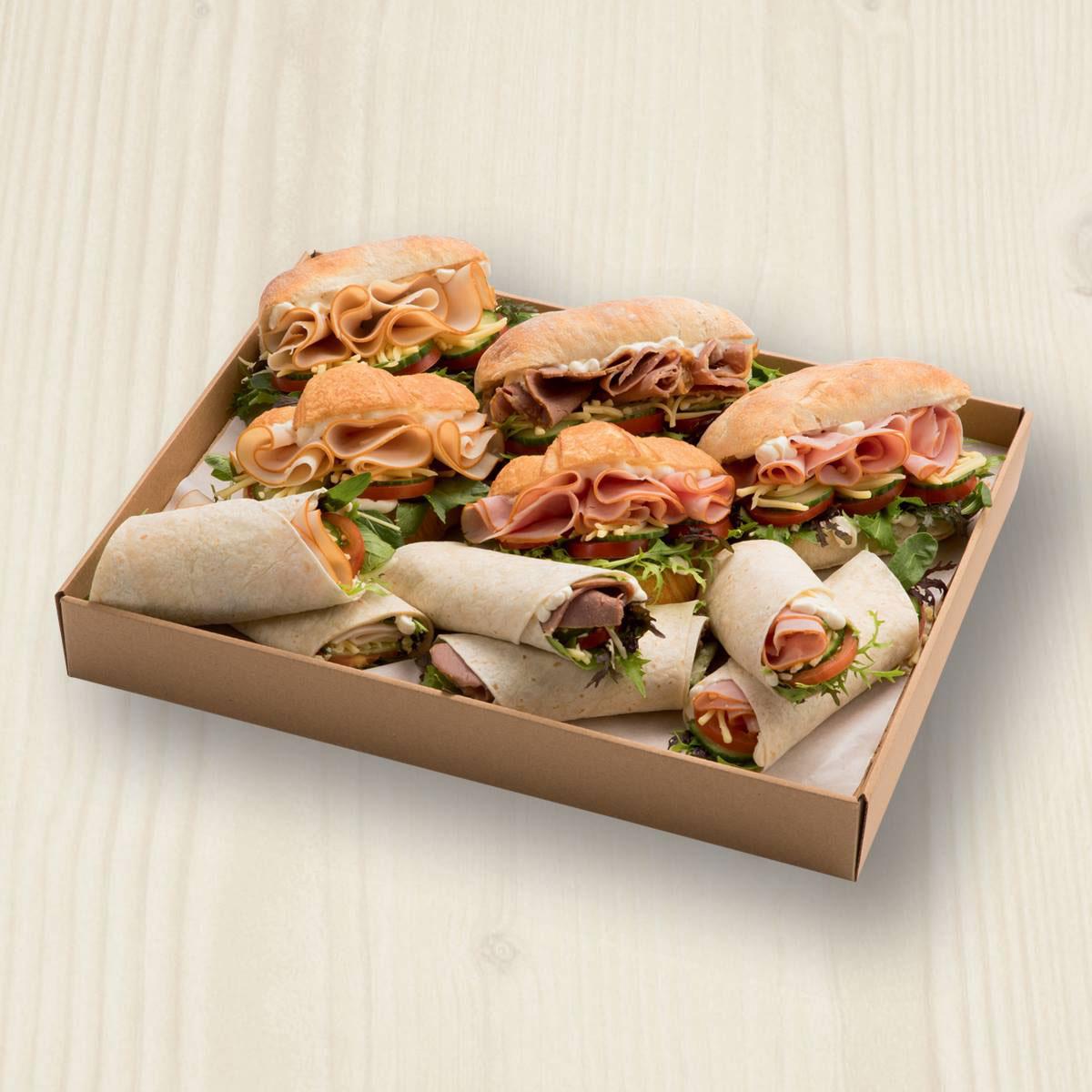 Filled Rolls, Wraps & Croissants